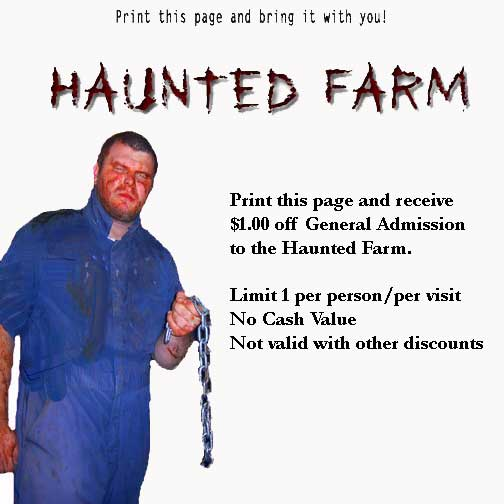 The haunt discount coupons
